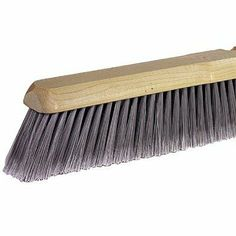 """Fine Sweeping Brushes - 18"""" fine sweep floor brush black horse by Weiler. $25.99. 804-42001 Features: -Block Material: Hardwood.-Bristle Material: Black Horsehair.-Applicable Materials: Tile, Linoleum.-Type: Broom. Color/Finish: -Block Finish: Lacquered. Dimensions: -Trim Length: 3 in."""