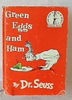 Vintage Children's Book Illustrated Green by AbundantArtsVintage, $7.00