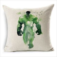Marvel Heroes Watercolor Cushion Cover