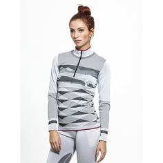Adidas By Stella Mccartney Winter Sport Seamless Long Sleeve ($150) ❤ liked on Polyvore featuring activewear, activewear tops, adidas, sports activewear, adidas sportswear and adidas activewear