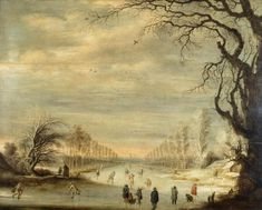 Gijsbrecht Leytens - Winterlandschap (ca1620).