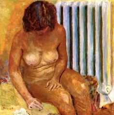 Nude with Radiator / Pierre Bonnard - 1928