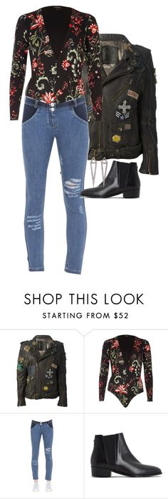"""""""Untitled #6530"""" by ashley-r0se-xo ❤ liked on Polyvore featuring Mr & Mrs Italy, River Island, Freddy, Dune and Eva Fehren"""