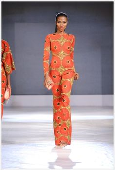 #GTBLFDW2013 - Sunny Rose African Fashion | Africa fashion African dress attire Nigerian dresses Nigerian fashion