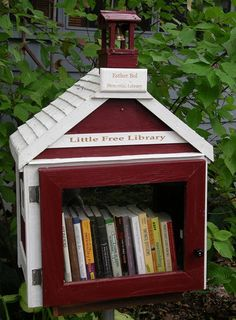 The Little Free Library free book exchange program can help promote a sense of community and create a great reading culture.  These can be placed in hallways outside of library for patrons to take a book and leave a book.  Many patrons will end up reading the same books sparking great conversations.