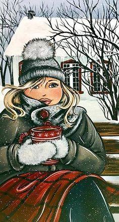 Shipping Wine To Texas Info: 2542057195 Plus Size Art, Fat Art, Snow Pictures, Black Women Art, Christmas Art, Illustrations, Rock Art, Painting Inspiration, Female Art