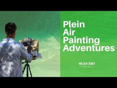 Plein Air painting highlights from my course Learn Outdoor Painting with Confidence. Find it on Udemy.