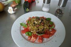 Gemischte Hülsenfrüchte als Salat