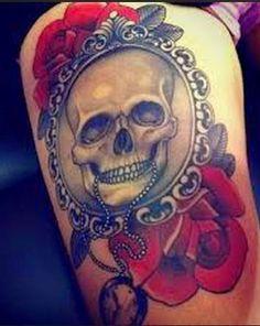 51 Best Thigh Tattoos Designs and Ideas (2018)  #designs #ideas #tattoos #thigh