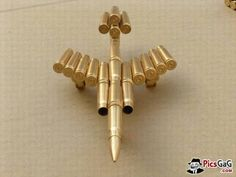 Bullet Art on Pinterest | Bullet Crafts, Shotgun Shell Crafts and ...