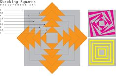 Square Stack - E is for Explore!