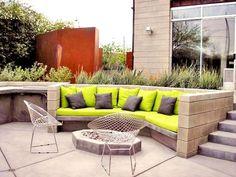 Modern Patio Design Arizona Landscaping REALM Tucson, AZ
