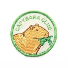 Capybara Club Patch