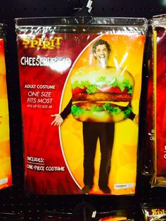 Cheeseburger Hallowe
