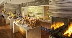 Hilton McLean Tysons Corner, VA Hotel - Breakfast Buffet - Turns into communal table?