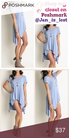 Confident Minimalist Basic TunicMedium Confident Minimalist Basic Tunic*Relaxed fit  Fabric: COTTON BLEND  color dolphin. 🚫No Trades🚫 ✅Reasonable Offers Are Considered✅ Use the blue offer button. Tops Tunics
