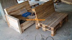 Pallet Sofa Work In Progress Sofas