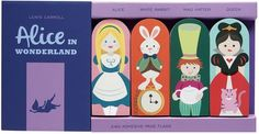 Alice in Wonderland Page Flags from Girl of All Work