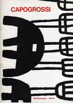 Capogrossi. Roma,  Galleria Marlborough,  1969