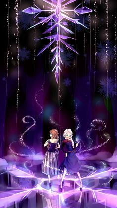 "Anna & Elsa of Arendelle from Disney's ""Frozen. Princesa Disney Frozen, Disney Princess Frozen, Disney Princess Drawings, Frozen Movie, Disney Drawings, Frozen Stuff, Princess Anna, Anna Frozen, Disney Fan Art"