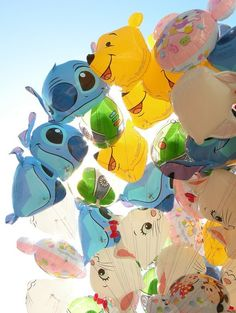 Must go to Tokyo Disneyland. Freaking stitch balloons!! I must have!