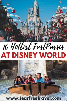 If you are headed to Disney World, booking your FastPasses is an absolute MUST. Having a FastPass means getting to skip the long wait times for your favourite ride. Whenever I have a FastPass, I feel like a total celebrity skipping the line at Disney World!