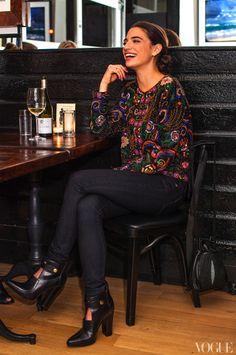 Sequin Jacket, Vogue.com