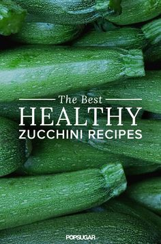 Whether you want to enjoy zucchini at breakfast, lunch, dinner, or even snack time, there's a recipe here that will suit your dietary needs.