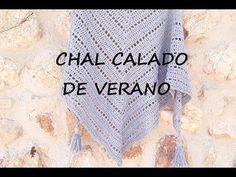 CHAL CROCHET DE VERANO - SUMMER CROCHET SHAWL - YouTube