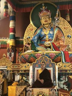 His Holiness Dudjom Yangsi has arrived in New York - Riwotsegya Holi, Buddha, New York, Canada, Princess Zelda, Statue, Fictional Characters, Art, Art Background