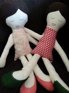 pair of mollie makes dolls Mollie Makes, Dinosaur Stuffed Animal, Wordpress, About Me Blog, Crafty, Dolls, How To Make, Animals, Baby Dolls