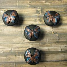 Find This Pin And More On BATHROOM. Butterfly Cabinet Knobs ...