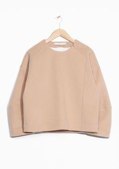 & Other Stories | Ada Kokosar Felt Wool Sweater
