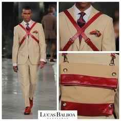 Gentleman, Lucas Balboa En La Pasarela MFSHOWMEN