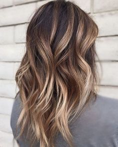 Bronde Balayage Hair Color Idea