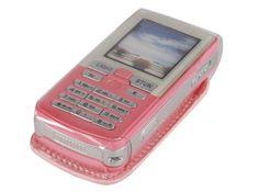 Pink Pretender 4.5 Million Volt Cell Phone Stun Gun with Flashlight & Holster. So cute!