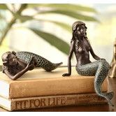 Found it at Wayfair - Mermaid 2 Piece Shelf Sitters Figurine Set