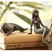 Found it at Wayfair - Mermaid 2 Piece Shelf Sitters Figurine Set