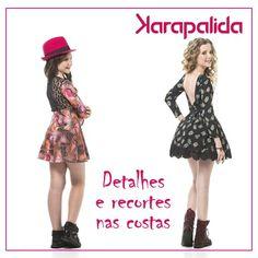 Detalhes nas costas, para looks charmosos e cheios de personalidade! #karapalida #inverno2016 #dress #detalhesdecostas
