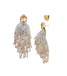 Tory Burch Stone & Tassel Earring