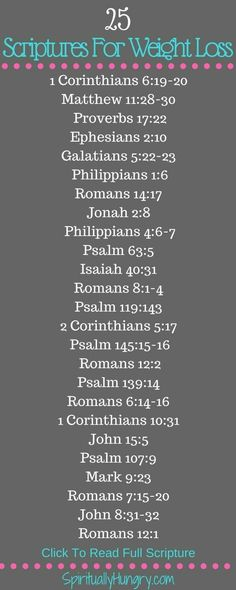 Scripture For Weight Loss – 25 Bible Verses - weightloss board Body Fitness, Fitness Tips, Bible Scriptures, Bible Quotes, Prayer Quotes, Healing Scriptures, Scripture Verses, Qoutes, Psalm 63