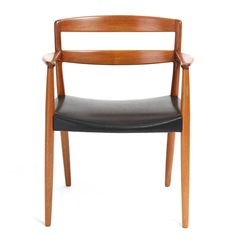 Set of 12 Dining Chairs by Ejner Larsen & Aksel Bender Madsen | From a unique collection of antique and modern dining room chairs at https://www.1stdibs.com/furniture/seating/dining-room-chairs/