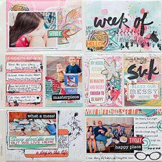 Heather Greenwood | Scrapbooker + Mixed Media Artist: March 2014 - Week 10