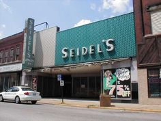 Seidels!!!!!  Downtown East St. Louis, Il  My grandmother loved Seidels.  It was the only place to get our Girl Scout Uniforms.