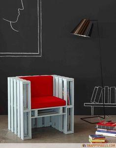Kreatív Ötletek: Raklap fotel