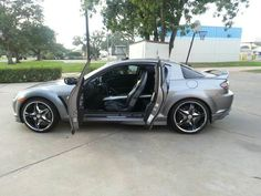 Make: Mazda Model: RX-8 Year: 2004 Body Style: Car Exterior Color: Gray Interior Color: Black Vehicle Condition: Excellent Price: $8,500 Mileage:80,000 mi For More Info Visit: http://UnitedCarExchange.com/a1/2004-Mazda-RX-8-52794515914
