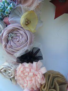 Different Fabric Flower ideas