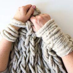 arm knitting : comment tricoter avec ses bras