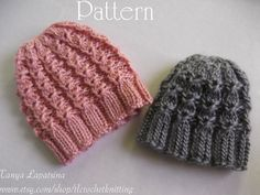 Please note that this is not a listing for a finished item. This is a PDF knitting pattern for instant download after payment.    A simple and