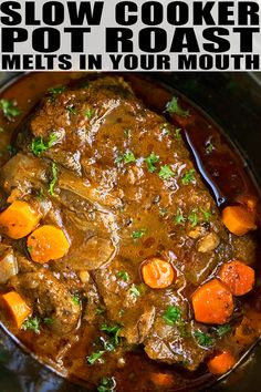 Crock Pot Roast Beef Recipe With Onion Soup Mix.Crockpot Beef Pot Roast With Lipton Onion Soup Mix . Awesome Slow Cooker Pot Roast Recipe Allrecipes Com. Easy Crock Pot Roast Recipes That Crock! Top Crockpot Recipes, Roast Beef Recipes, Slow Cooker Recipes, Slow Cooker Pot Roast, Crockpot Meals, Crockpot Beef Roast Recipes, Venison Roast Crockpot, Crock Pot Chuck Roast, Slow Cooker Pork Roast Recipe With Vegetables